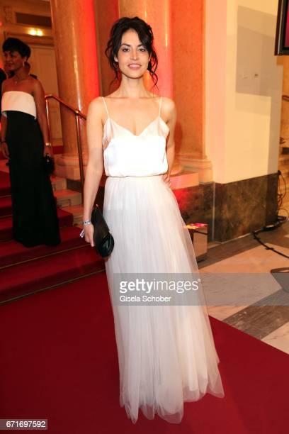 Violetta Schurawlow during the ROMY award at Hofburg Vienna on April 22 2017 in Vienna Austria