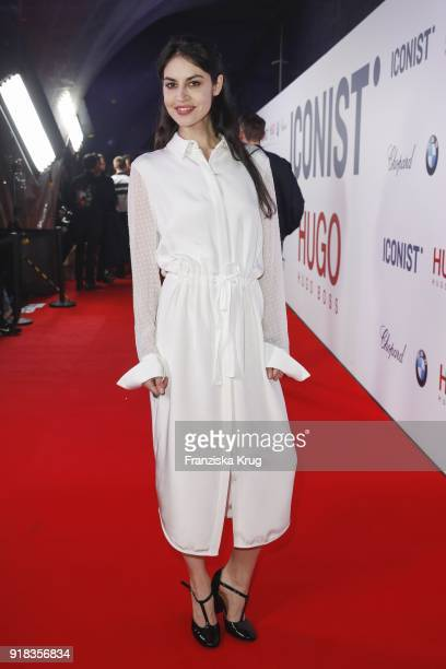 Violetta Schurawlow during the Young ICONs Award in cooperation with ICONIST at SpindlerKlatt on February 14 2018 in Berlin Germany
