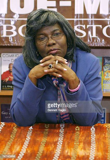 Violetta Wallace at the HueMan Bookstore Cafe in New York New York