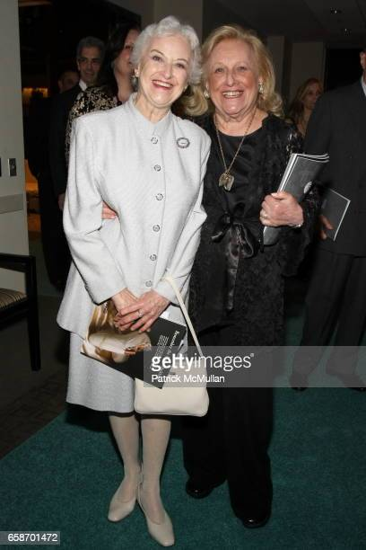 Violette Verdy and Sylvia Mazzola attend The School of American Ballet Workshop Performance Benefit at Lincoln Center on June 1, 2009 in New York...
