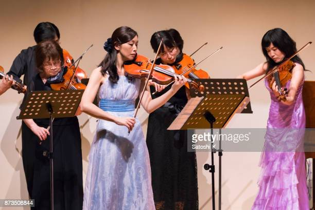 violin concert - classical concert stock pictures, royalty-free photos & images