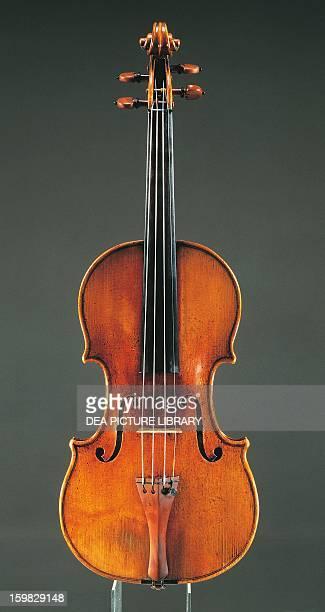 Violin made by Antonio Stradivari Italy 18th century Cremona Civica Collezione Dei Violini Palazzo Comunale