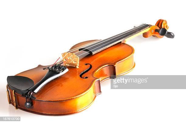バイオリン、ホワイト
