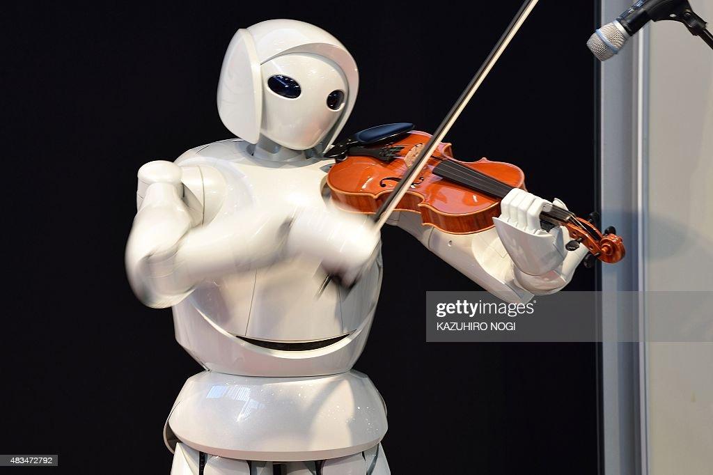 JAPAN-TECHNOLOGY-ROBOT : News Photo