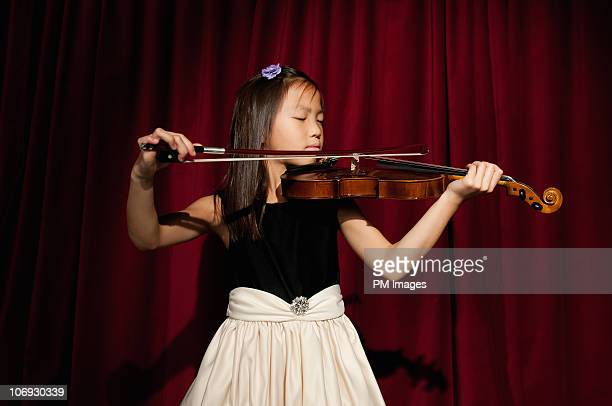 violin recital - soloist stock photos and pictures