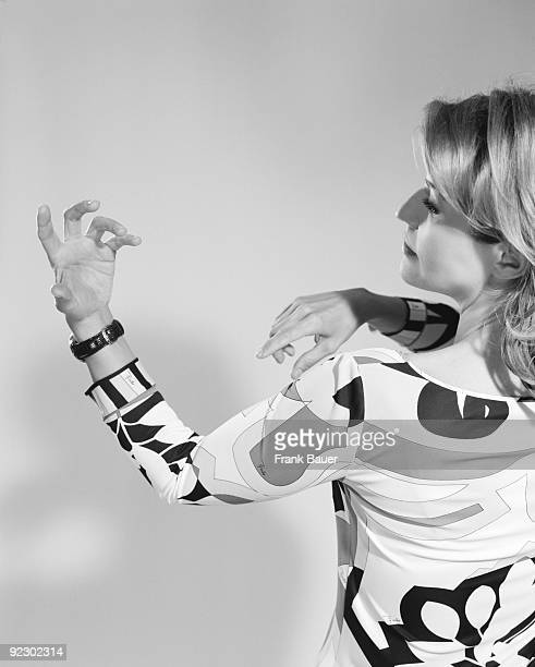 Violin virtuoso Anne Sophie Mutter poses for a portrait shoot in Munich on June 3 2008