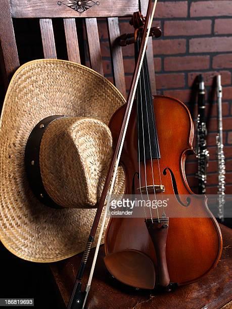 Violin Western Music Motif