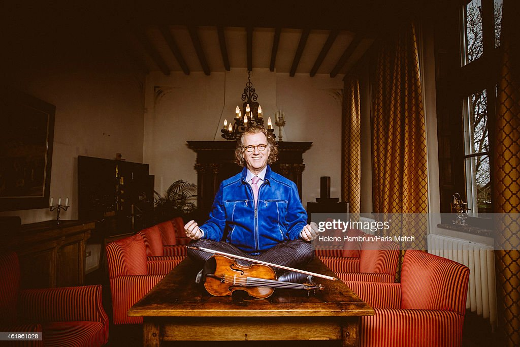 Andre Rieu, Paris Match Issue 3432, March 4, 2015