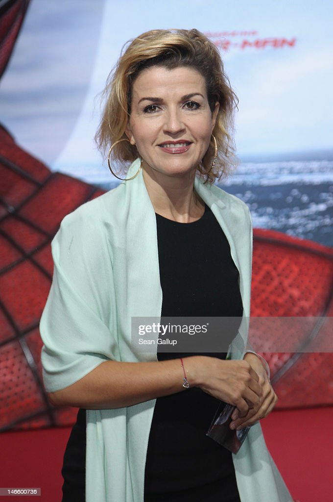 Violinist Anne-Sophie Mutter attends the Germany premiere of 'The Amazing Spider-Man' at Sony Center on June 20, 2012 in Berlin, Germany.