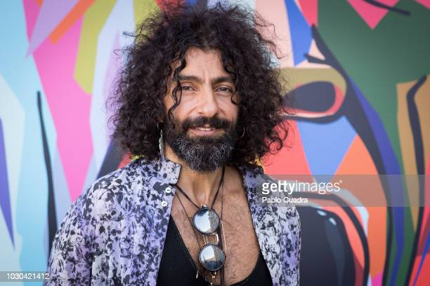 Violinist Ara Malikian presents the 'Lucha de Gigantes' project at Teatro Real on September 10 2018 in Madrid Spain