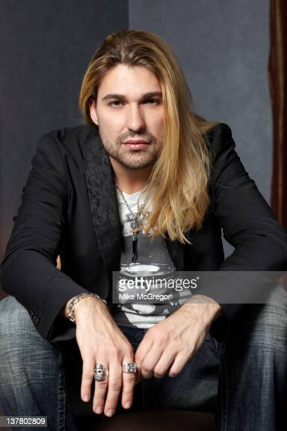 Violinist David Garrett is photographed for You Magazine on March 2 2011 in New York City