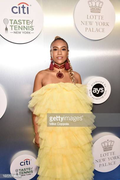 Violinist Ezinma attends the Citi Taste Of Tennis gala on August 23 2018 in New York City