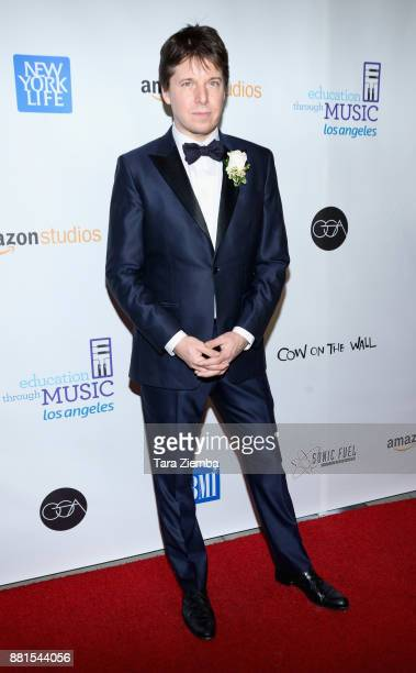 Violinist Joshua Bell attends the Education Through Music Los Angeles Gala at Skirball Cultural Center on November 28 2017 in Los Angeles California