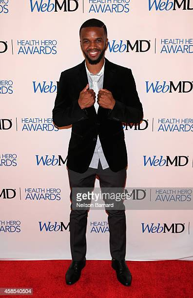Violinist Lee England Jr attends the 2014 Health Hero Awards hosted by WebMD at Times Center on November 6 2014 in New York City