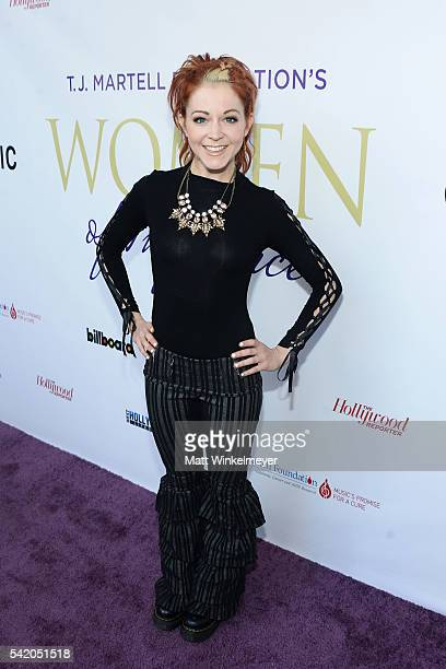 Violinist Lindsey Stirling attends the Women of Influence Awards at The Wilshire Ebell Theatre on June 21 2016 in Los Angeles California