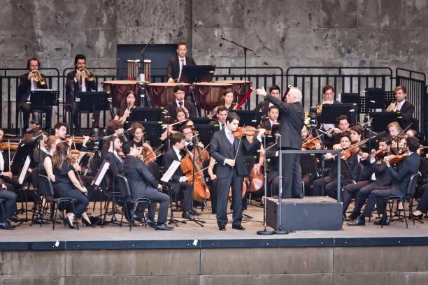 DEU: West-Eastern Divan Orchestra Perform In Berlin