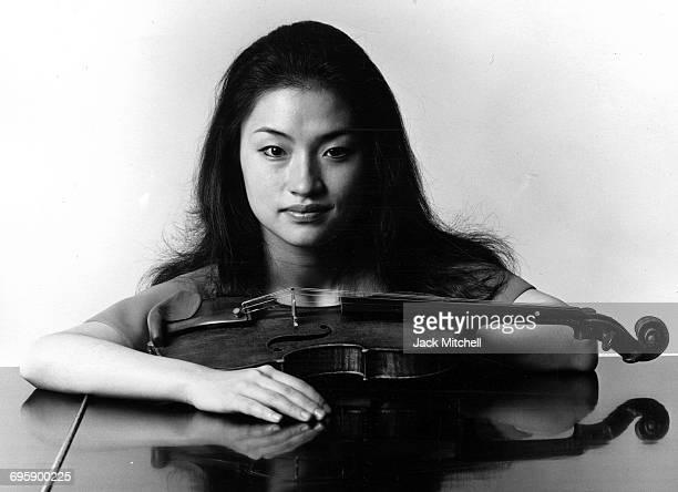 Violinist Midori Goto 1995