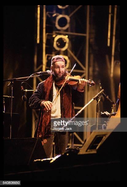 Violinist Nigel Kennedy Performing at Edinburgh Castle