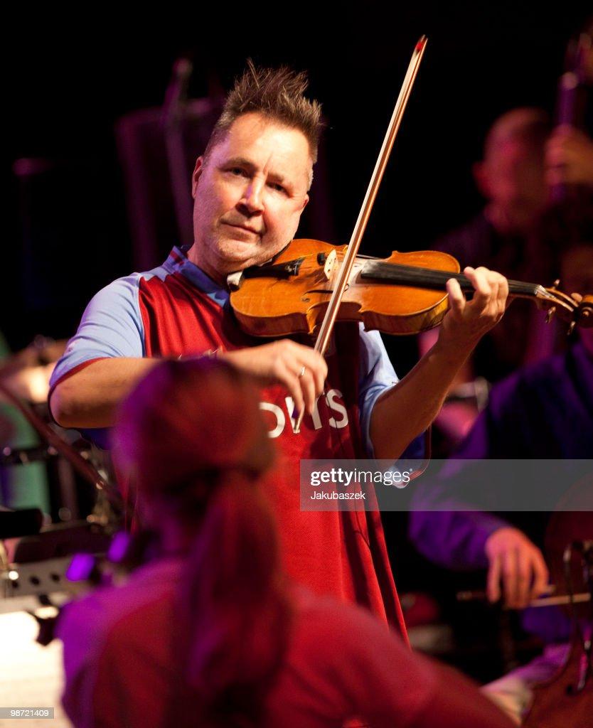 Nigel Kennedy In Concert Rehearsal