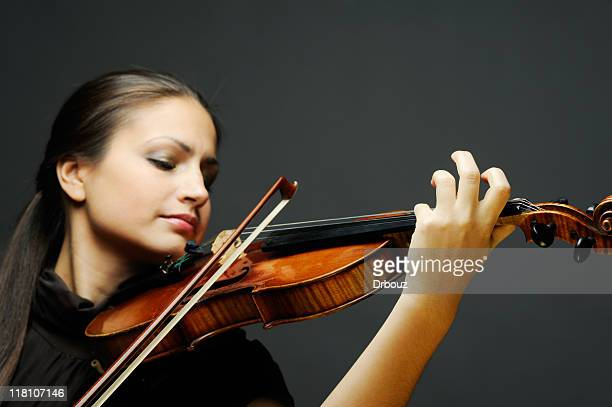 violinist - soloist stock photos and pictures