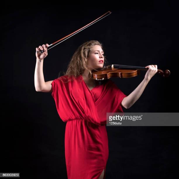 Violinist Woman