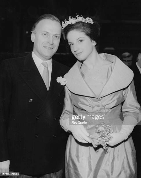 Violinist Yehudi Menuhin Pictured With His Daughter Zamira On Her Wedding Day At Hampstead Registry Office