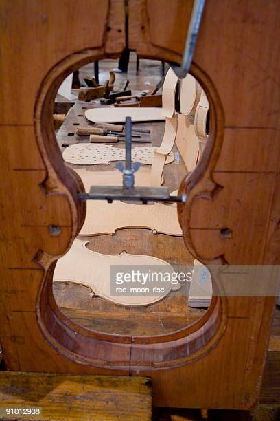 violinmakers workshop - museum curator stock pictures, royalty-free photos & images