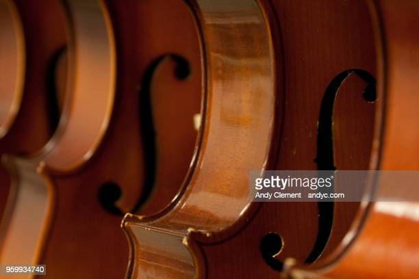 violins - andy clement stock photos and pictures