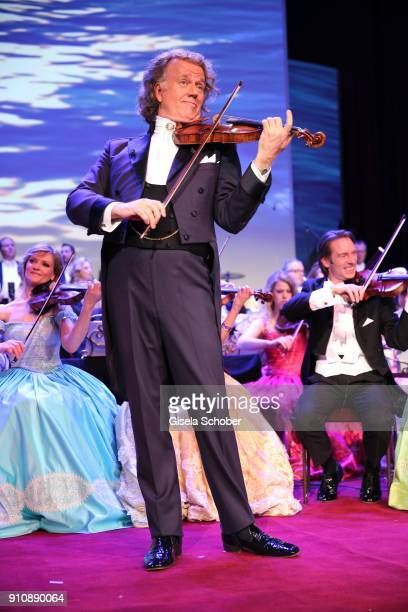 Violist Andre Rieu during the Semper Opera Ball 2018 at Semperoper on January 26 2018 in Dresden Germany