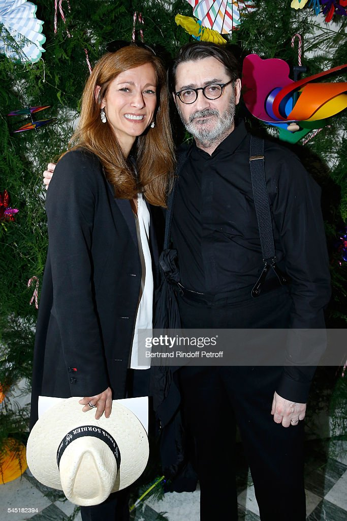 Franck Sorbier : Front Row - Paris Fashion Week - Haute Couture Fall/Winter 2016-2017