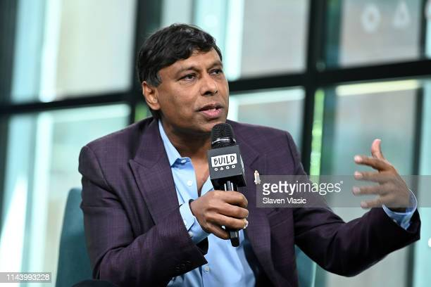 Viome CEO Naveen Jain visits Build Series to discuss Viome a personalized health and wellness app at Build Studio on May 15 2019 in New York City