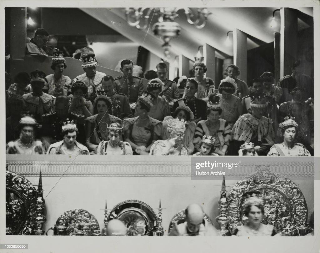 CORONATION OF KING GEORGE VI : News Photo