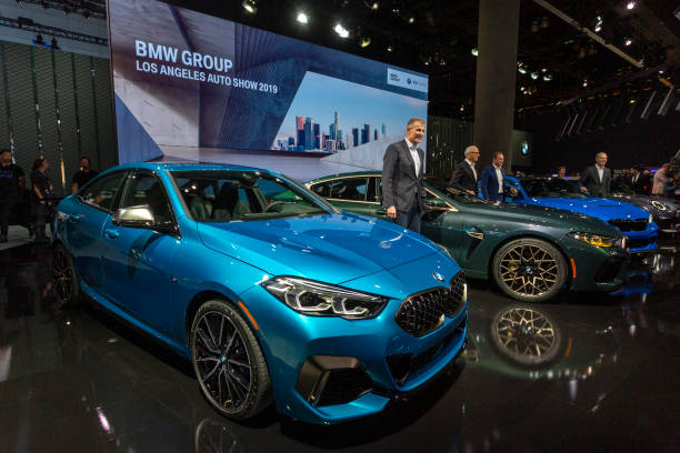 CA: Car Manufacturers Show Off Their Latest Models At Los Angeles Auto Show