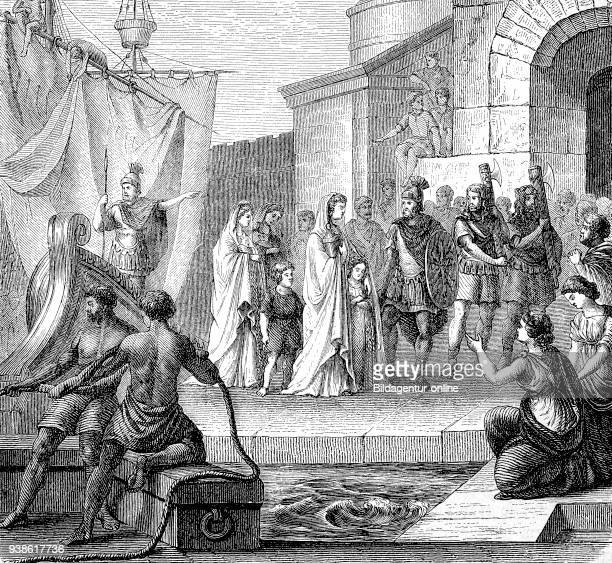 Vipsania Agrippina most commonly known as Agrippina Major or Agrippina the Elder 14 BD 18 AD brings the ash of Germanicus to Rome the story of the...