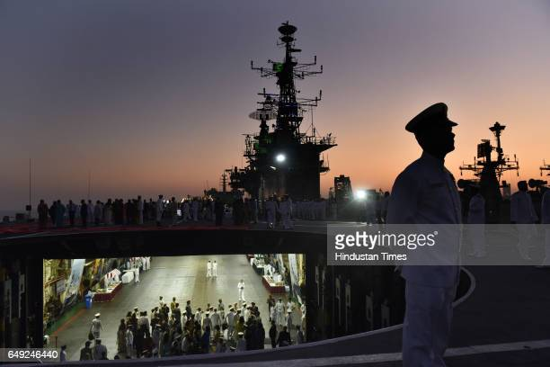 Viraat Oldest serving aircraft carrier was decommissioned at Naval Dockyard on March 6 2017 in Mumbai India INS Viraat is the longest serving warship...