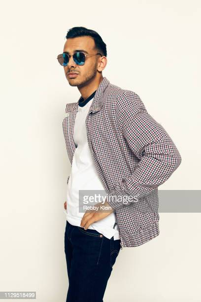Viraj Juneja of the film 'Boyz In The Wood' poses for a portrait at the 2019 SXSW Film Festival Portrait Studio on March 9 2019 in Austin Texas