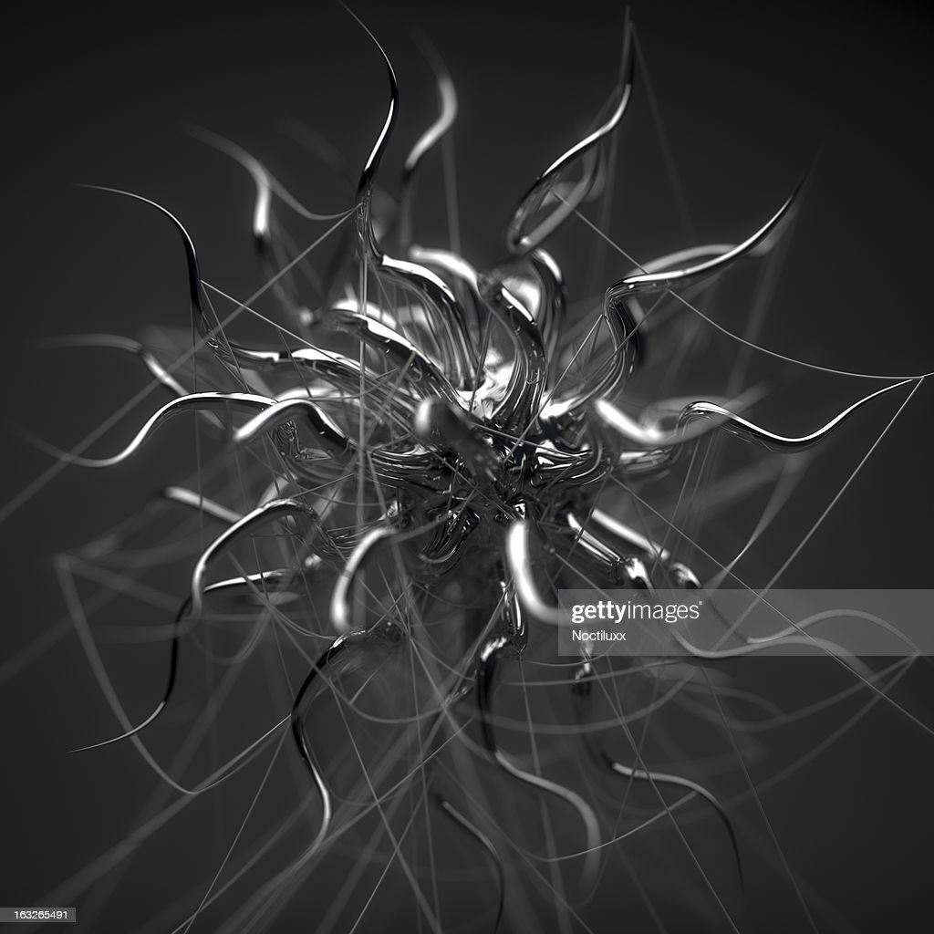Viral abstract structure : Stock Photo