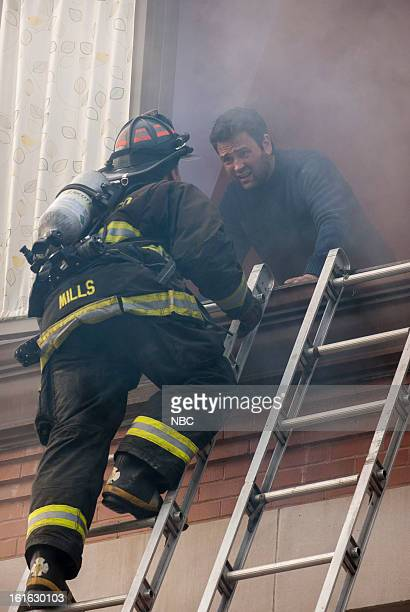 FIRE Viral Episode 116 Pictured Charlie Barnett as Peter Mills Brian King as Dad