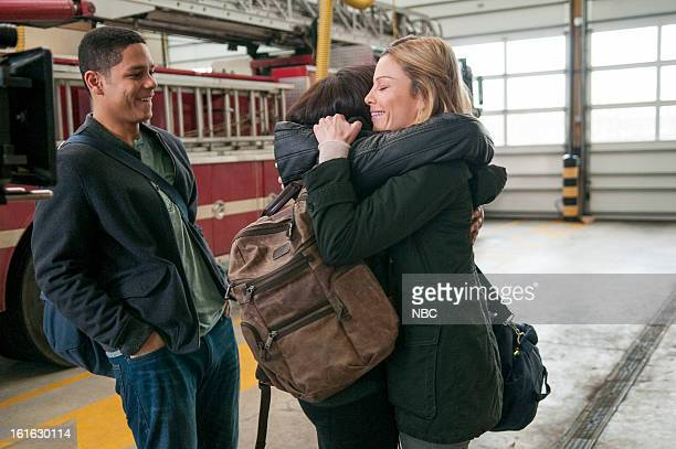 FIRE Viral Episode 116 Pictured Charlie Barnett as Peter Mills Monica Raymund as Gabriella Dawson Lauren German as Leslie Shay