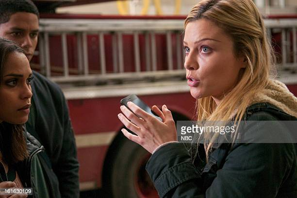 FIRE Viral Episode 116 Pictured Monica Raymund as Gabriella Dawson Charlie Barnett as Peter Mills Lauren German as Leslie Shay