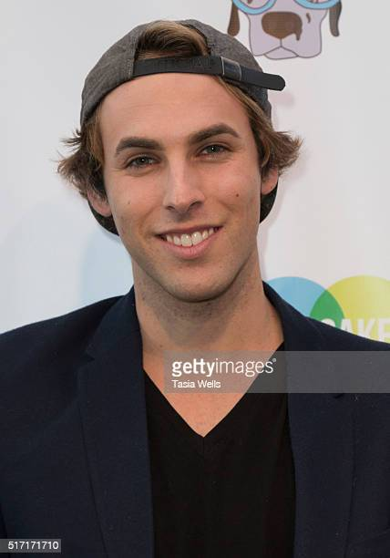 Viral Snapchat star Tristan De Burgh attends SoulPancake's Puppypalooza Party at SoulPancakes Headquarters on March 23 2016 in Los Angeles California