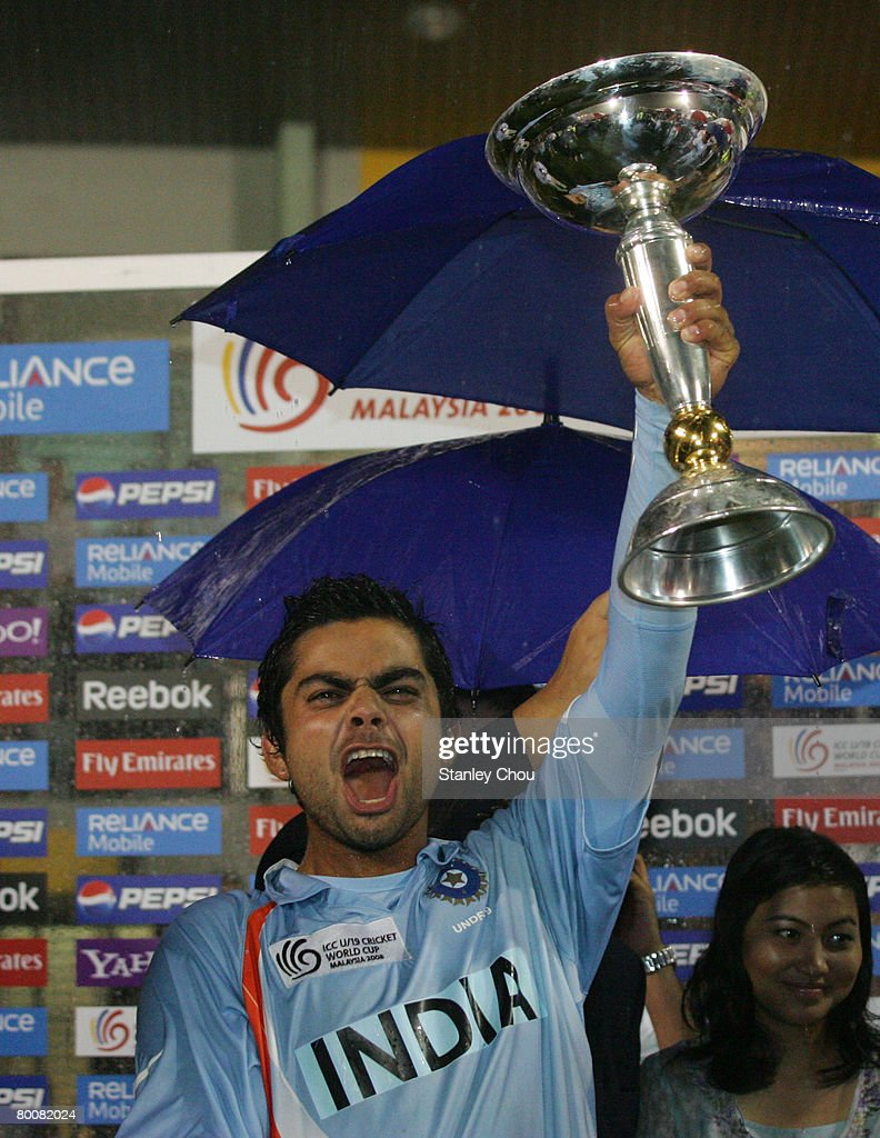 ICC Under 19 World Cup Final - India v South Africa : News Photo