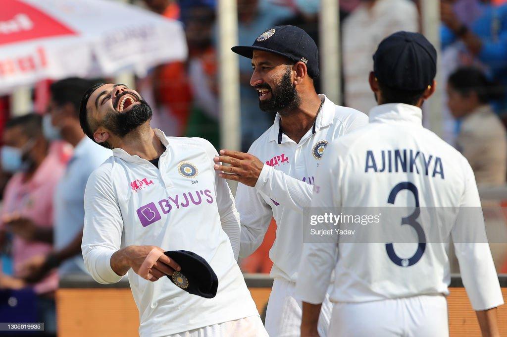 India v England - 4th Test: Day Three : News Photo
