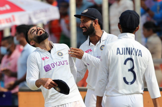 IND: India v England - 4th Test: Day Three