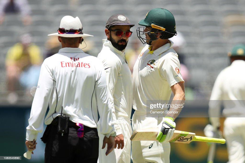 Australia v India - 2nd Test: Day 4 : News Photo