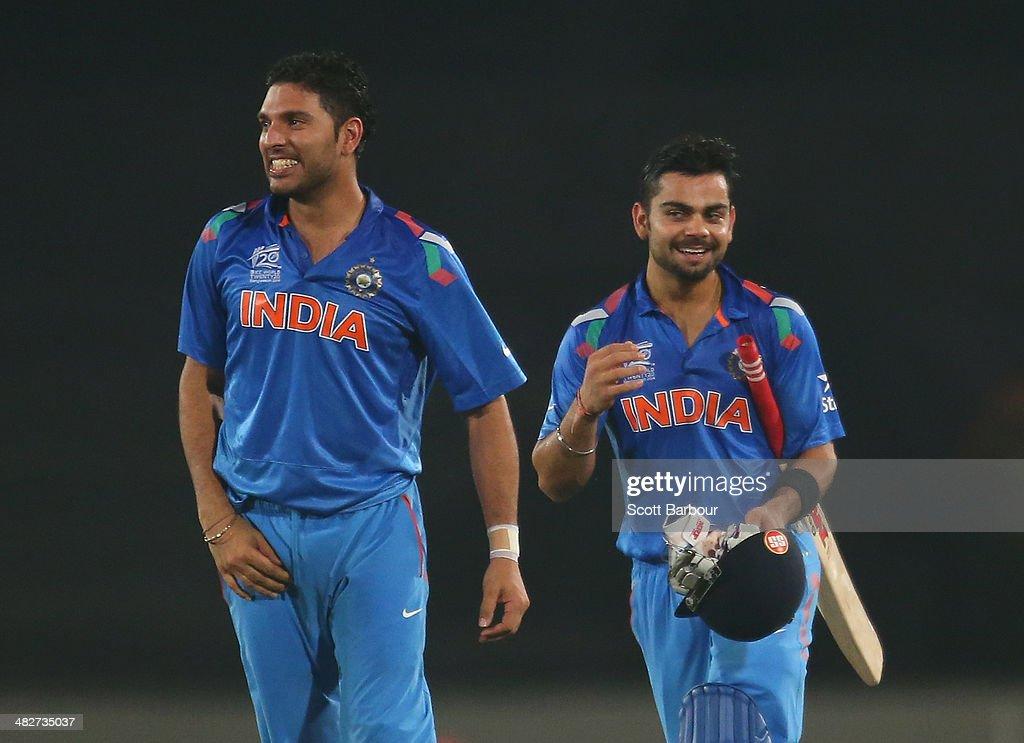 India v South Africa - ICC World Twenty20 Bangladesh 2014 : News Photo