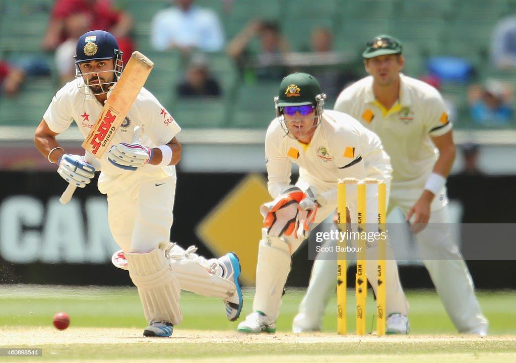 Australia v India: 3rd Test - Day 5 : News Photo