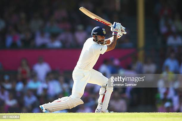 Virat Kohli of India bats during day three of the Fourth Test match between Australia and India at Sydney Cricket Ground on January 8 2015 in Sydney...