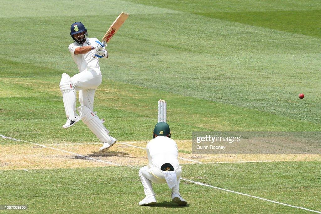 Australia v India - 3rd Test: Day 2 : News Photo
