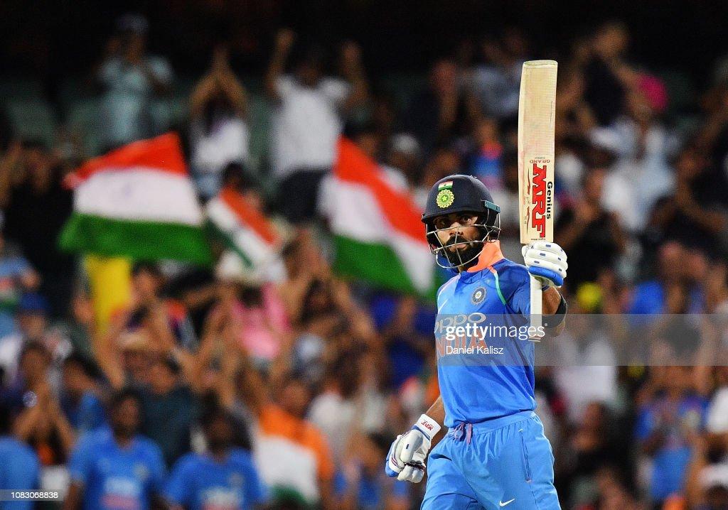 Australia v India - ODI: Game 2 : ニュース写真